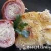 Baconbe tekert rozmaringos fetás csirkemell