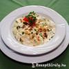 Tejfölös-szalonnás saláta