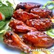 Barbecue csirkeszárnyak