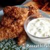 Csirkefalatok joghurttal és édesburgonyával