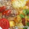 Kacsaszív pörkölt vörösborral hagymás krumplival