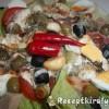 Mediterrán saláta tojással