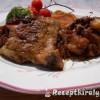 Mustáros sült csirke felsőcomb krumplival patisszonnal brokkolival