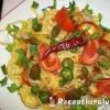 Sonkás tortellini sajttal capri gyümölccsel