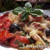 Spagetti Puttanesca con vino rosso