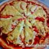 Taco-s csirkés pizza