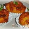 Baconös újhagymás muffin