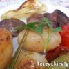 Cevapcici grillezett zöldségekkel