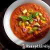 Gazpacho, Gaspacho (hideg paradicsomleves főzés nélkül)