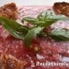 Hideg görögdinnye-paradicsom krémleves