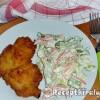 Krumplibundás hússzelet