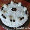 Csokis raffaello torta