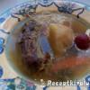 Húsleves pulykanyakból és csirkefarhátból