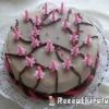 Marcipános puncs torta