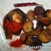 Sült szalonnás sertésmáj sült krumplival