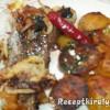 Sertésmáj makói módon sült krumplival