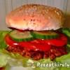 Hamburger pulykahússal
