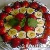 Epres banános torta