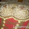 Női keblek torta Eta módra