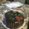 Szülinapi csokitorta