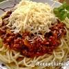 Bolognai spagetti gombával