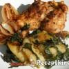 Hagymás csirke krumplival