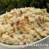 Sült hagymás zelleres krumplipüré