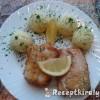 Sült hal burgonyapürével