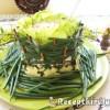 Ehető salátás tál