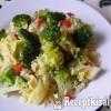 Barna rízs zöldségekkel