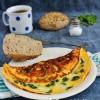 Medvehagymás-sajtos omlett Gizi konyhájából