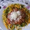 Bolognai zöldség ágyon