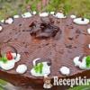 Csokikrémes torta - paleo