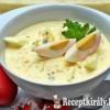 Tormás, tejfölös tojássaláta