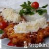 Csirkemell sajtos-burgonyás bundában