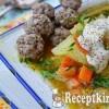 Karalábé leves tárkonyos húsgombóccal - paleo