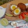 Skót tojás és karfiol puffancs - paleo