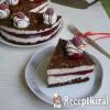 Málnás Túró Rudi torta