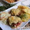 Mediterrán csirkemell burgonya chips-el
