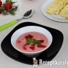 Eperkrémleves Gizi konyhájából