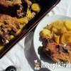 Mézes-mustáros sertéssült
