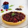 Mascarponés-cseresznyés torta