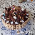 Csokiözön torta