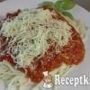 Bolognai spagetti Erzsike konyhájából