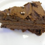 rós csokoládétorta szelet