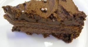 Írós csokoládétorta