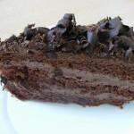 Csokitorta szelet