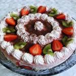 Epres tejszines joghurt torta 1