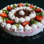 Epres tejszines joghurt torta 2