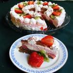 Epres tejszines joghurt torta 3